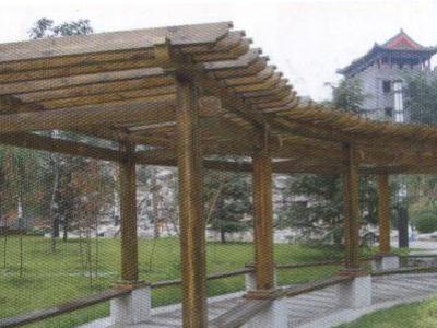 廊架_产品展示_雅景园防腐木业有限公司